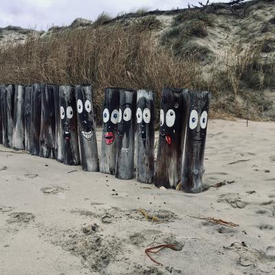 art de plage